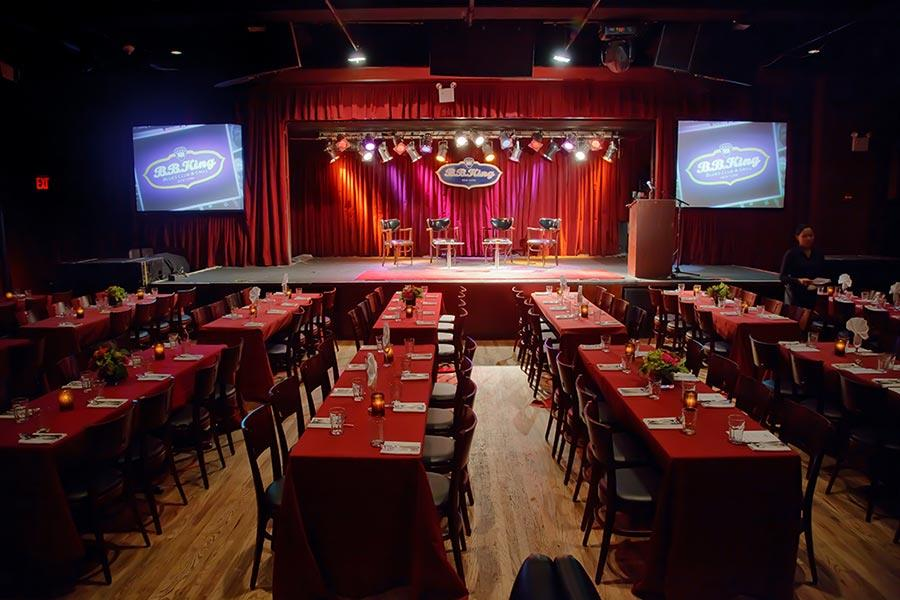 B B King Blues Private Events Unforgettable Events At A