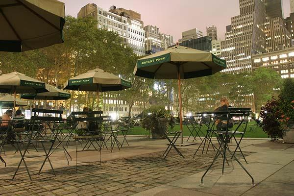 Bryant Park Grill New York Ny